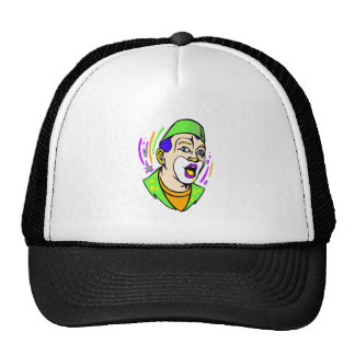 Surprise Clown Face Trucker Hat