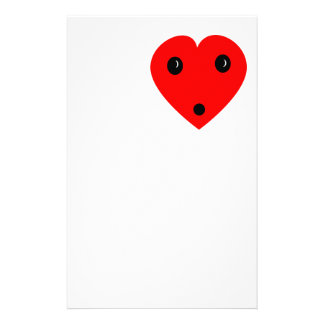 """Surprise Heart"" Stationery Design"