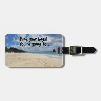 Surprise! Luggage Tag
