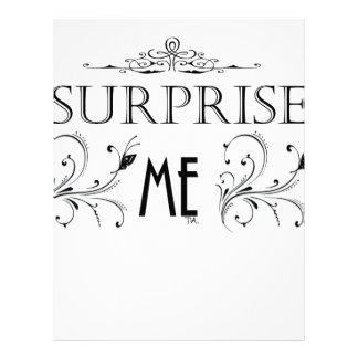 Surprise Me Letterhead