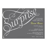 """SURPRISE"" Milestone Birthday or Event Invitation"