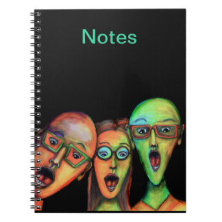Surprise! Spiral Note Book