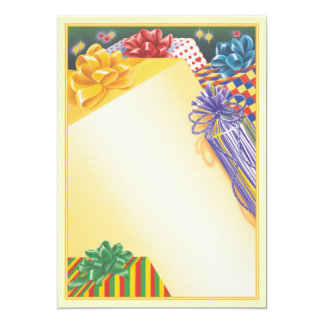 Surprise Package © 5x7 Paper Invitation Card