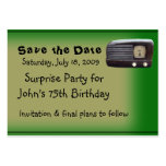 Surprise Party Business Cards