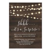 Surprise Party Invitation - Birthday / Anniversary