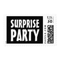 SURPRISE PARTY Stamp Bold Lettering V22A