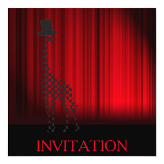 Surprise Party Theater Oper Invitation