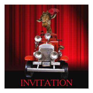 Surprise Party Theater Oper Invitation