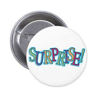 Surprise! Pinback Button