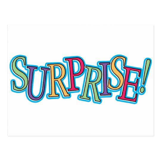 Surprise! Postcard