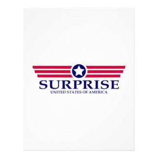 Surprise Pride Letterhead