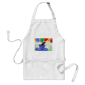 Surprise Tea Cup Mouse Adult Apron