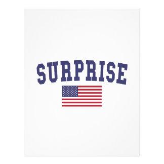Surprise US Flag Letterhead