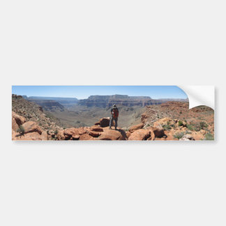 Surprise Valley Thunder River Trail Grand Canyon Bumper Sticker