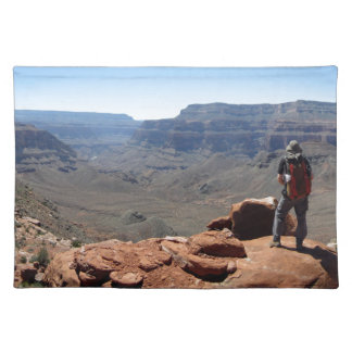 Surprise Valley Thunder River Trail Grand Canyon Cloth Placemat