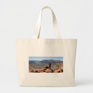 Surprise Valley Thunder River Trail Grand Canyon Large Tote Bag