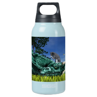 Surprise Visitor Thermos Water Bottle