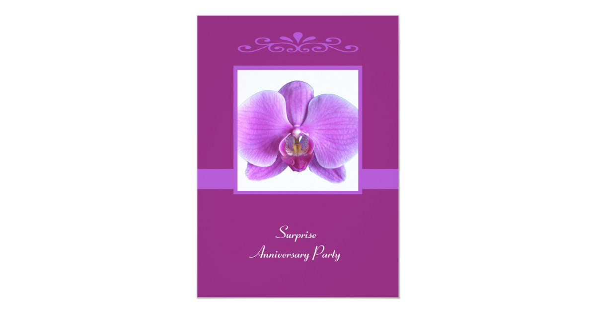 Surprise Wedding Anniversary Invitations: Surprise Wedding Anniversary Party Invitation