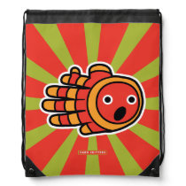 Hand shaped Surprised Baby Clown Fish Backpack
