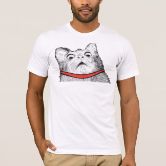 Surprised Cat Gasp Meme - 2-sided Fitted T-Shirt