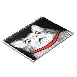 Surprised Cat Gasp Meme - Notebook