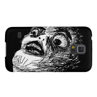 Surprised Comic face Galaxy S5 Cover