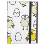Surprised Easter chickens iPad Cases