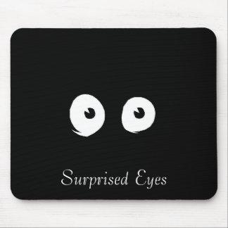 Surprised Eyes Mousepad