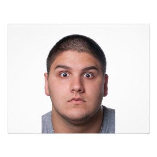 Surprised Man's Face Flyer