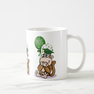 Surprised Monkey Graduate Coffee Mug