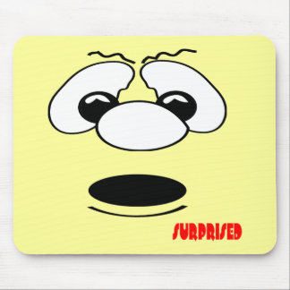 Surprised Mouse Pad