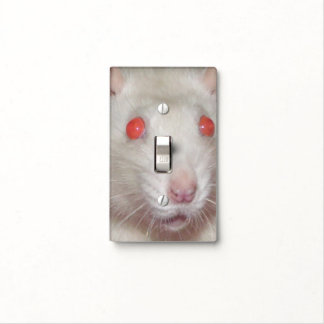surprised rat light switch cover