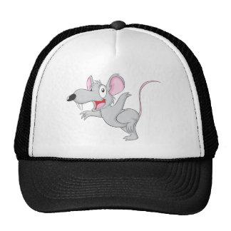 Surprised Rat Mouse Jump Trucker Hat