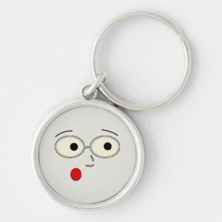 Surprised Steven Face Keychain
