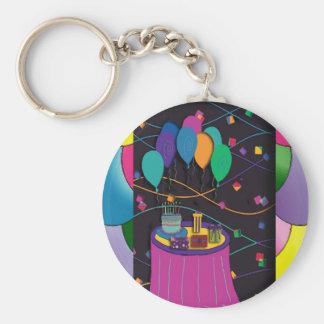 surprisepartyyinvitationballoons keychain