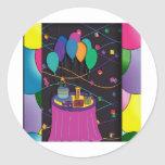 surprisepartyyinvitationballoons pegatinas