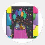 surprisepartyyinvitationballoons sticker
