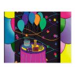 surprisepartyyinvitationballoons tarjeta postal