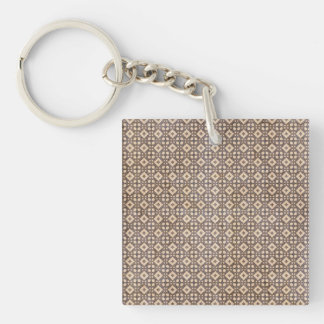 Surprising Achievement Sensible Loyal Single-Sided Square Acrylic Keychain