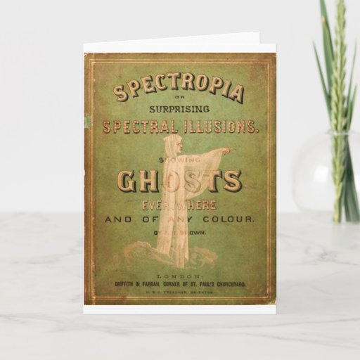 Surprising Spectral Illusions! Card