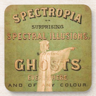 Surprising Spectral Illusions! Coasters