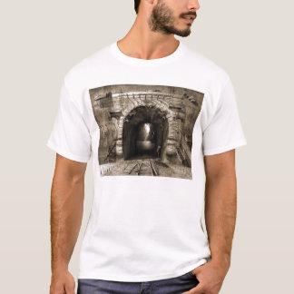 Surreal 80s style custom made white t-shirt