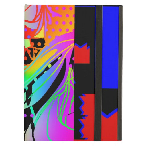 SURREAL ABSTRACT GEOMETRIC COLLAGE CASE FOR iPad AIR