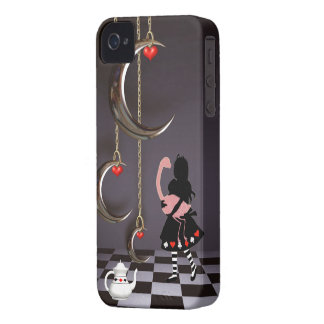 Surreal Alice & Flamingo iPhone 4 Case