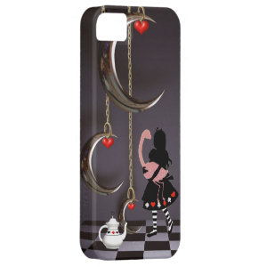 Surreal Alice & Flamingo iPhone 5 Case