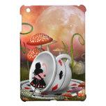 Surreal Alice, Flamingo & Teacup Cover For The iPad Mini