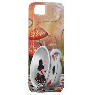 Surreal Alice, Flamingo & Teacup iPhone 5 Case