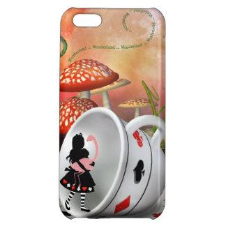 Surreal Alice, Flamingo & Teacup iPhone 5C Case