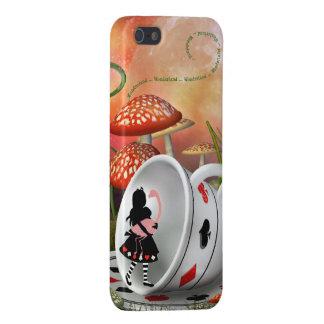 Surreal Alice, Flamingo & Teacup iPhone SE/5/5s Cover