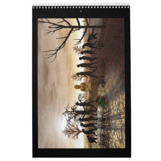 Surreal Art Calendar with no dates 2